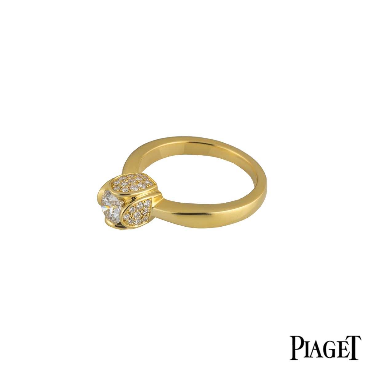 Piaget 18k Yellow Gold Engagement Ring
